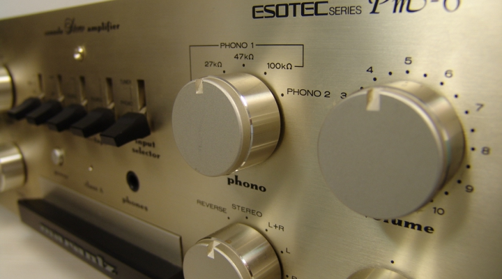 PM-6 Esotec Stereo Amplifier
