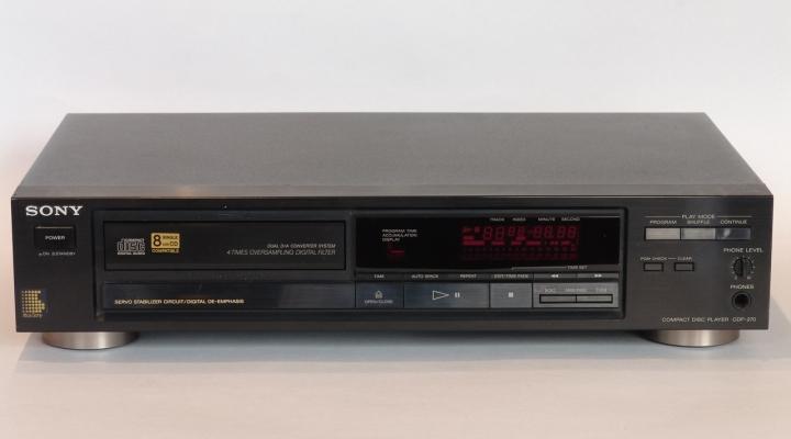 CDP-270 Sztereó CD Lejátszó