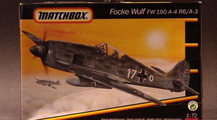Focke Wulf 1939 Modell 1:72 England 1992