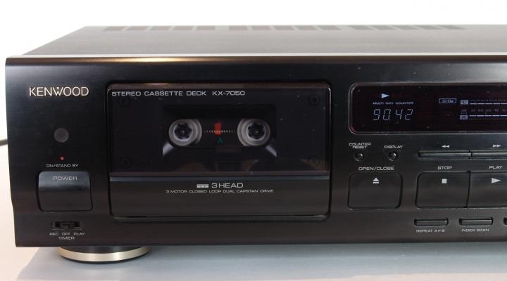 KX-7050 Sztereó Kazettés Deck