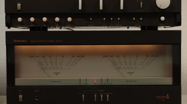 SE-A3 / SU-A4 Stereo Amplifier
