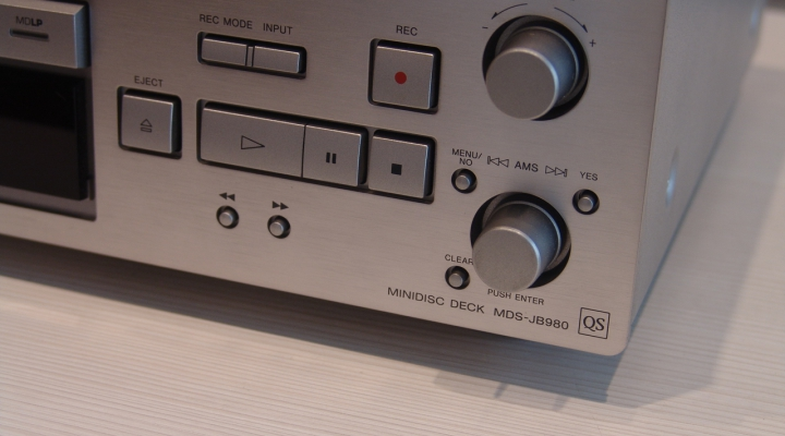 MDS-JB980 Sztereó MiniDisc Recorder