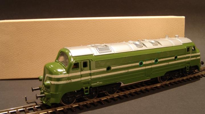 BR204 NOHAB SNCF Dízelmozdony ÚJ ÁR!