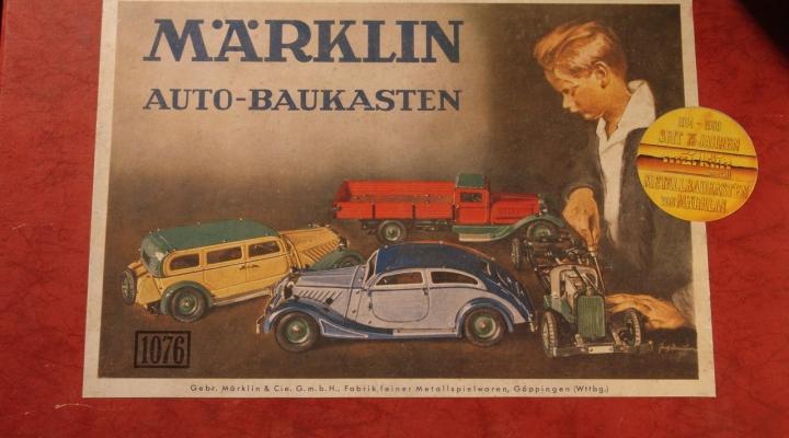 MÄRKLIN 1076 Versenyautó Építő Készlet