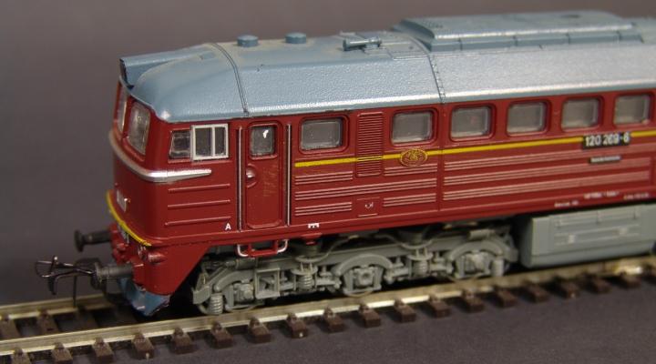 BR120 269-6 DR Dízelmozdony ÚJ ÁR!