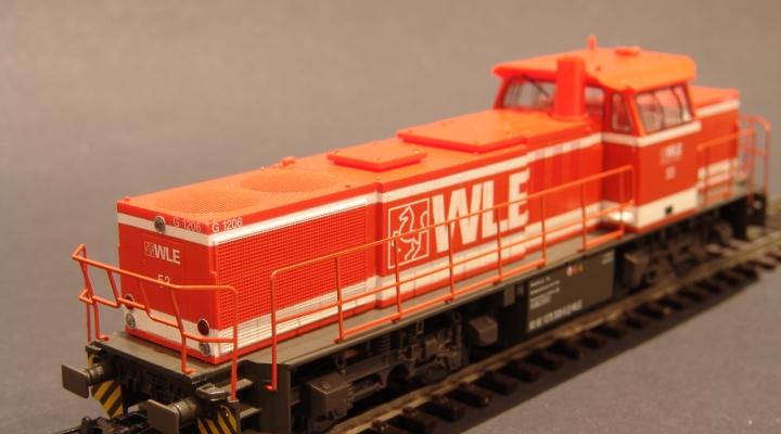 G1206 WLE Dízelmozdony ÚJ ÁR!