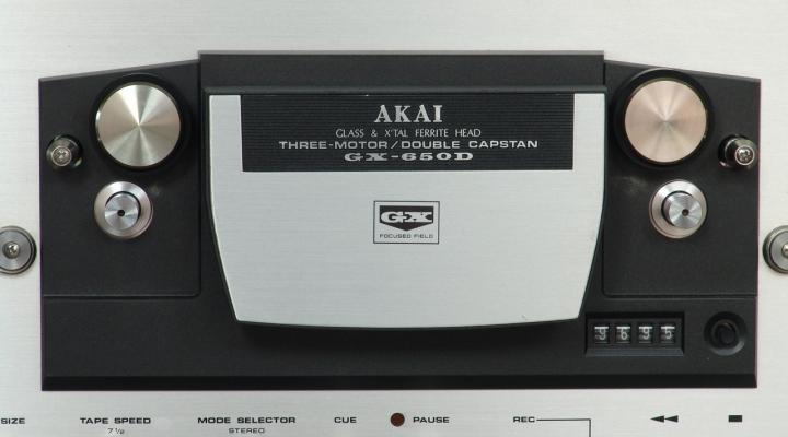 GX 650 Sztereó Orsós Magnó