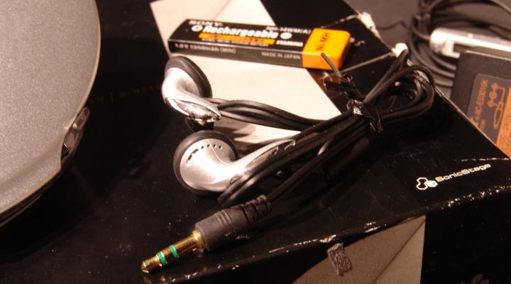 D-NE10 Discman Hordozható CD Lejátszó