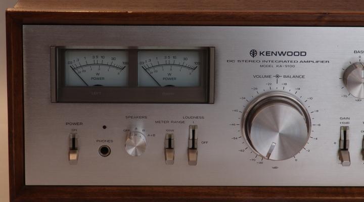 KA-9100 Sztereó Erősítő