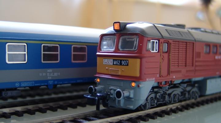 M62 GYSEV BR120 Diesel Szett