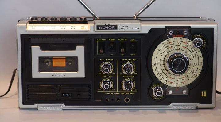 ST-801 Hordozható Sztereó Kazettás Rádió