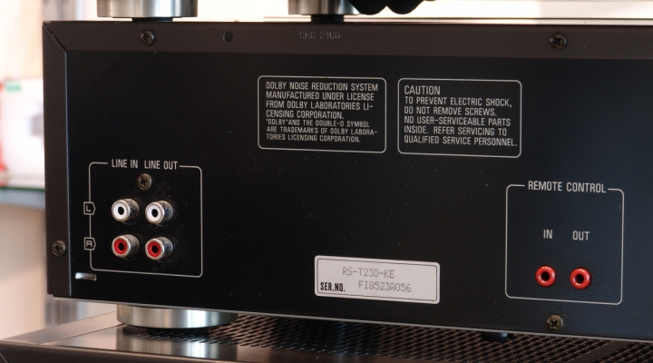 RS-T230 Dupla Kazettás Deck ÚJ ÁR!