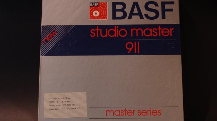 Studio Master New 911 ALU Tárcsa/Magnószalag