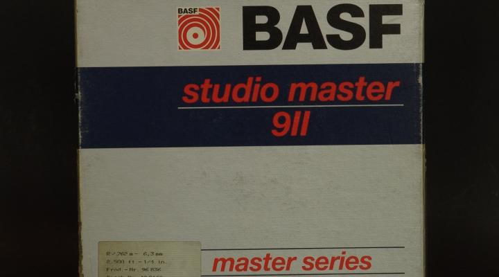 Studio Master 911 ALU Tárcsa/ Magnószalag