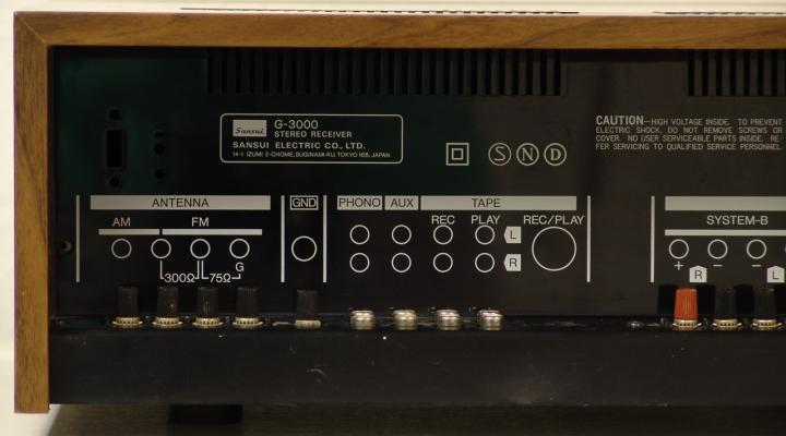 G-3000 Sztereó Receiver