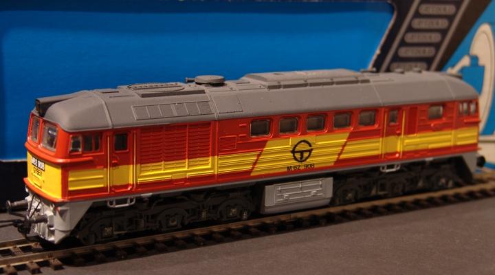 M62 908 GYSEV BR120 Dieselmozdony