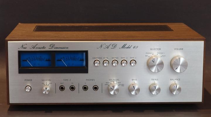 Nad 60 Stereo Amplifier Ritorno Hu