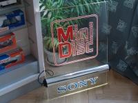 Reklámtábla Plexi Sony MD