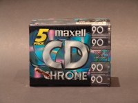 Maxell CD II 90 CHROM MC ORIG / DB.