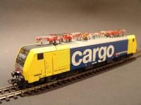 BR189 Cargo SBB Villanymozdony