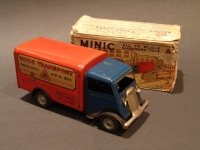 MINIC Transport Van Blue Cabin