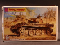 Panther 43/Diorama 1943 Modell 1:76 England 1973