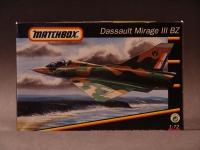 Dasssault Mirage 1956 Modell 1:72 England 1992