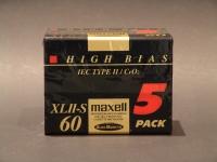 Maxell XL-II S 60 CHROM MC ORIG / DB.