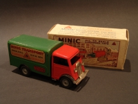 MINIC Transport Van Red Cabin