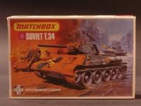 Soviet T.34/Diorama 1944 Modell 1:76 England 1976