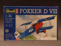 Fokker D VII 1918 Modell 1:72 Germany 1993