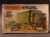 Monty's Caravan/Diorama 1942 Modell 1:76 England 1969