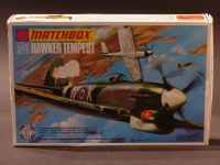 Hawker Tempest 1945 Modell 1:72 England 1974