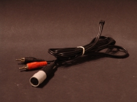 DIN/2RCA Sztereó Kábel/DIN Fordítóval