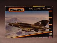 MIG 21 Sovjet 1953 Modell 1:72 England 1992