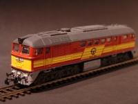 M62 908 GYSEV BR120 Diesel Lok