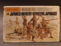 Japanese Infantry 1945 Modell 1:76 England 1969